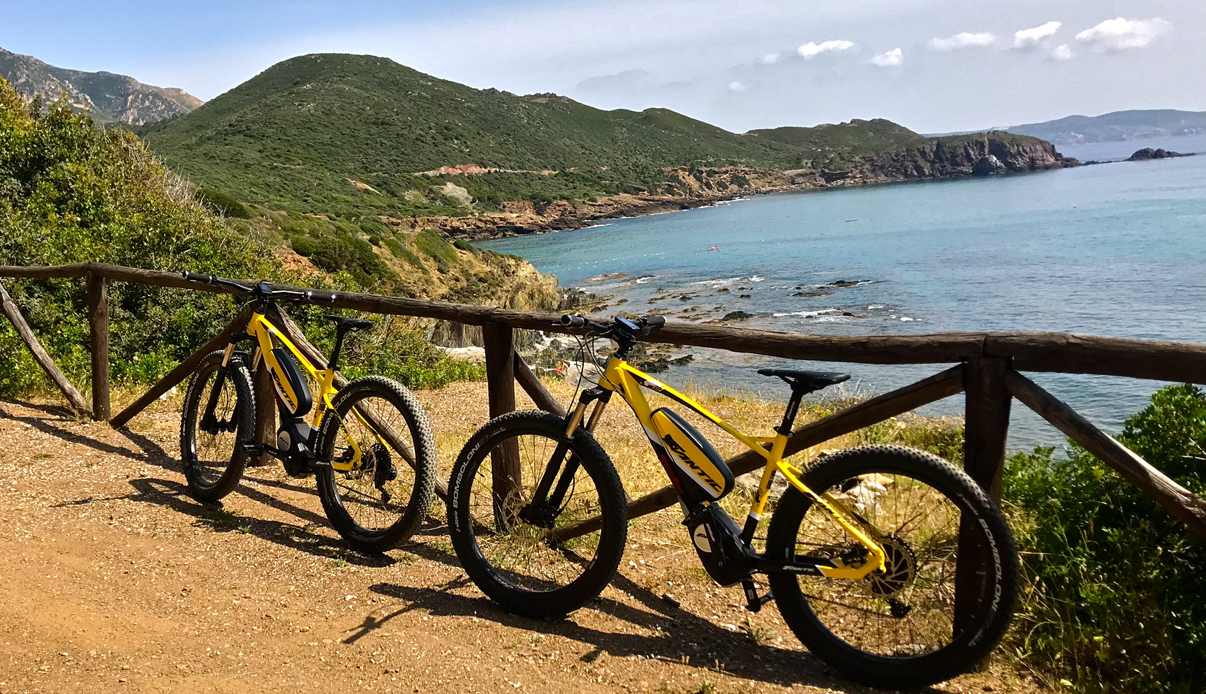 TRIPS and EXCURSIONS WITH RENTAL E-MOUNTAIN BIKE