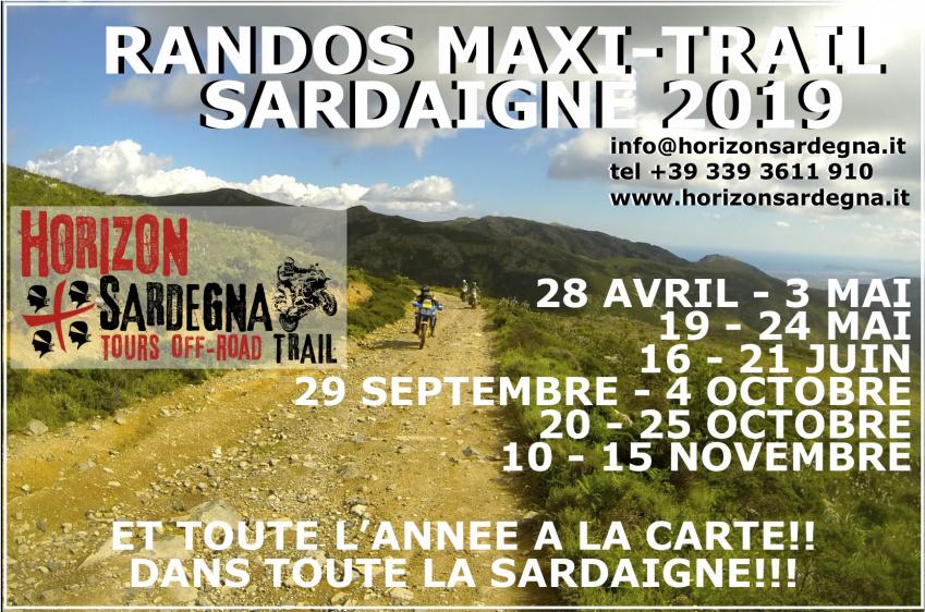 Rando Maxi Trail du 28 Avril au 3 Mai 2019
