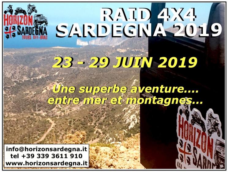 RAID 4X4 - 23/29 JUIN 2019