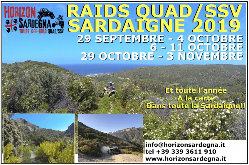 Quad/SSV Tour - 21 - 26 OCTOBER