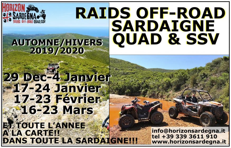 RAIDS QUAD/SSV - HIVERS 2019/2020