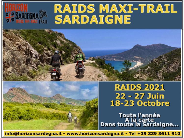 RAIDS TRAIL - SARDAIGNE 2021