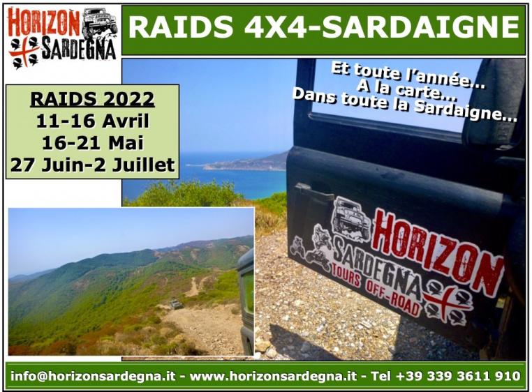 RAID 4X4 - SARDAIGNE 2022